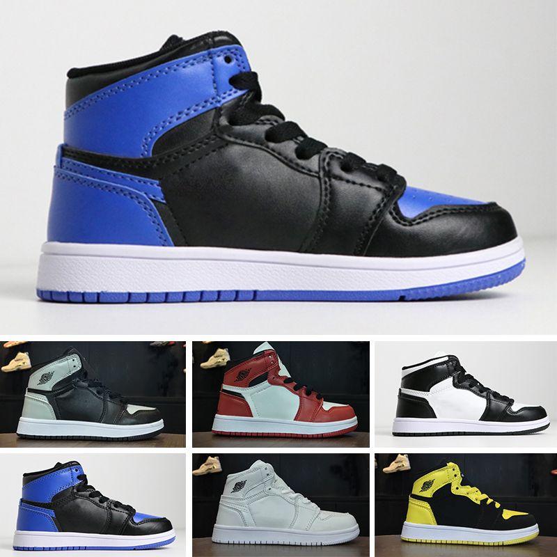 meilleures baskets 52c1c 37cec Nike air jordan 1 retro Chaussures pour enfants 1 magasin pas cher Top  Quality enfants chaussures de basket Prix de gros expédition gratuite des  ...