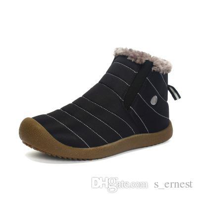 Мужчины Зима Снег Обувь Легкий Ботильоны Теплый Водонепроницаемый Botas Мужские Сапоги Дождь 2016 Новый Пушистый Пинетки Обувь Для Мужчин C#002