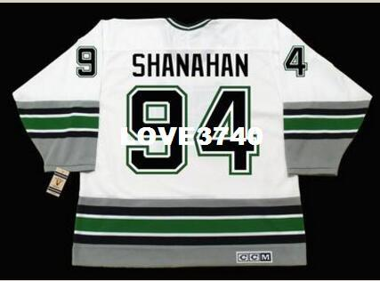Mens   94 BRENDAN SHANAHAN Hartford Whalers 1995 CCM Vintage RETRO Home  Hockey Jersey Or Custom Any Name Or Number Retro Jersey UK 2019 From  Love3740 0ff83da63