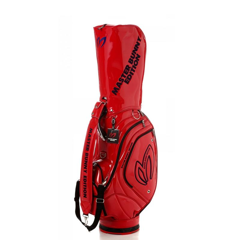 WOTUFLY New Golf Bag PU Leather 7 Holes Standard Golf Clubs Cart Bag With  Rain Cover Pearly Gates Black Or Red For Man Women Golf Bags Cheap Golf Bags  ... 27f8cd2705d43