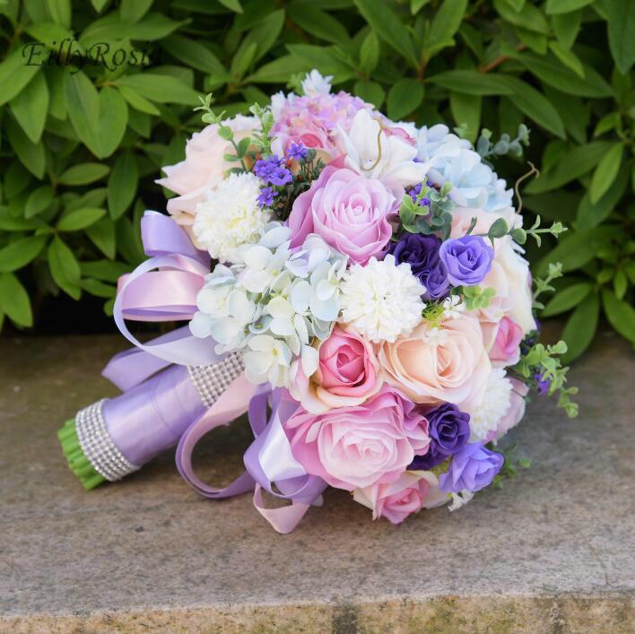 Grosshandel 2018 Mode Romantische Ausserhalb Hochzeit Blumen