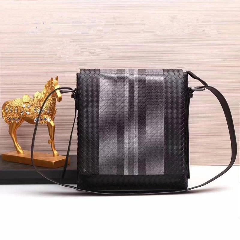 cb5887665670 Kaisiludi Leather Woven Men S Bag Single Shoulder Bag Men S Cattle Belt  Cover Embroidery Cross Pack Trend Designer Crossbody Bags Vintage Handbags  From ...