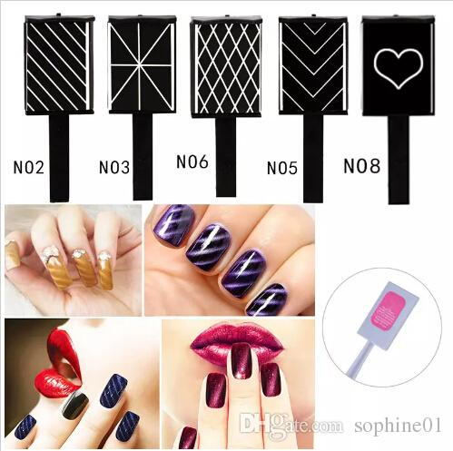 Wholesale New Hot Sale Nail Art Tool for DIY Magic 3D Magnetic Polish Cats Eyes Free Shipping