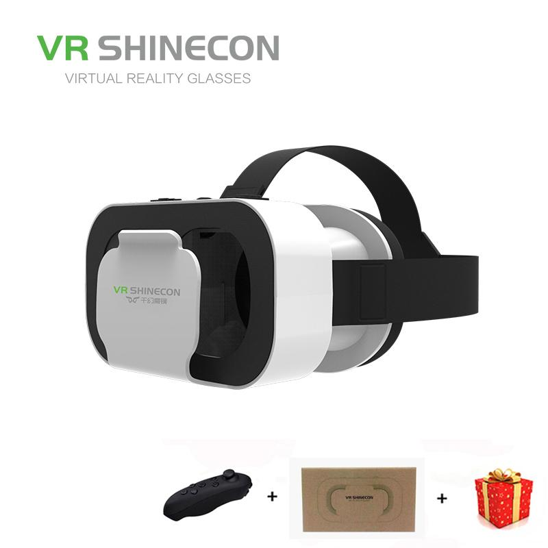 d215699954d8 Casque Headset Vr Box Shinecon Virtual Reality Glasses 3D Helmet 3 D Google  Cardboard For Smart Phone Smartphone Lens Daydream 3d Glasses For Kids 3d  ...