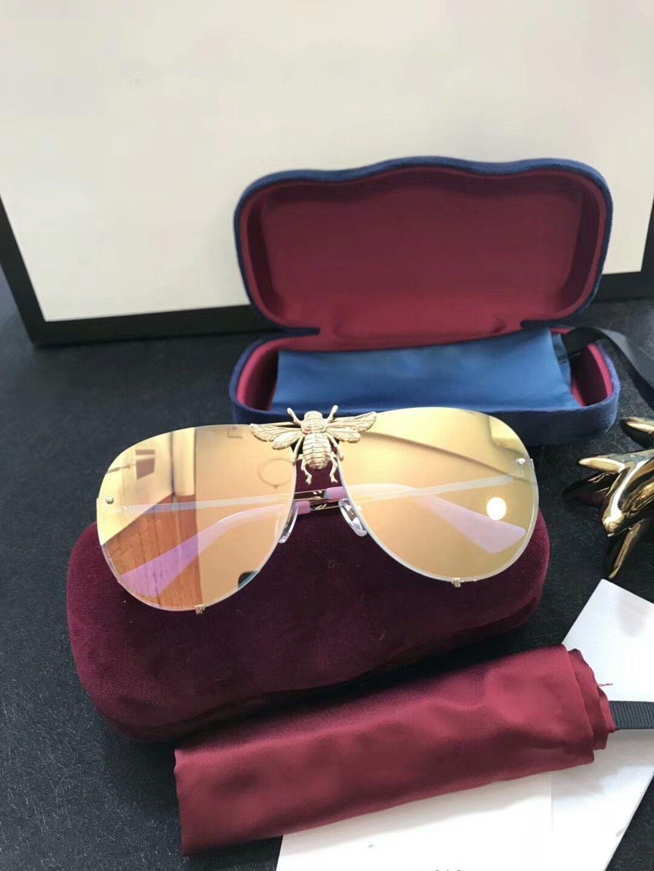 New Designer-Sonnenbrille 2238 Sonnenbrille für Frauen Männer Sonnenbrille Frauen Markendesigner Beschichtung UV-Schutz Perle Nieten Mode Sonnenbrille