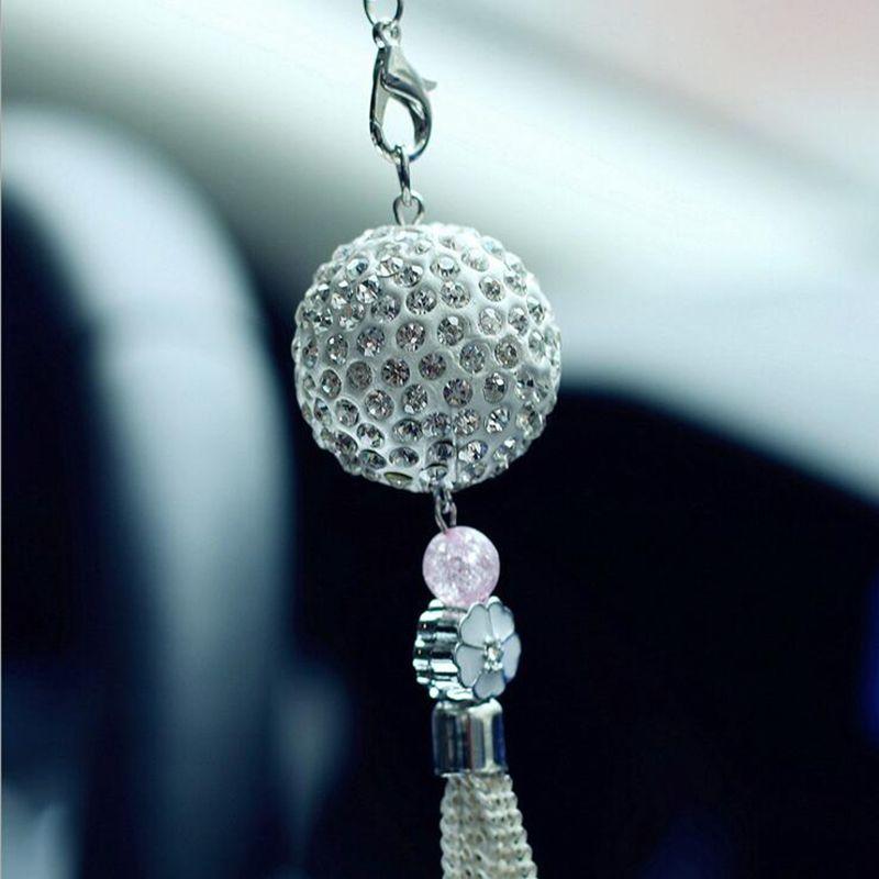 Grosshandel Neues Auto Kristallkugel Autodekoration Innen Kristall