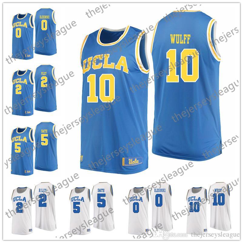 22855fad150 UCLA Bruins 2018 New  2 Cody Riley 10 Isaac Wulff 0 5 Blue White ...