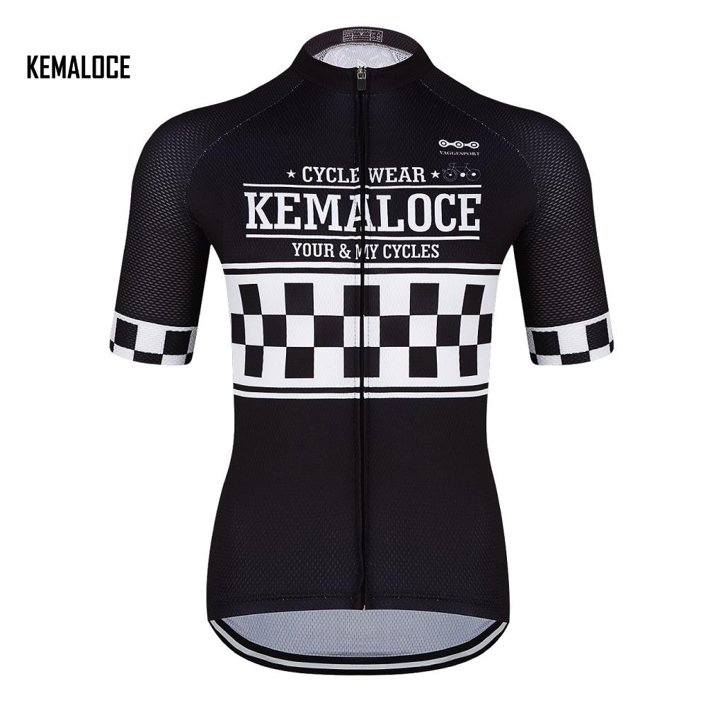 KEMALOCE Sale Brand High Visibility Team Cycling Clothing Jersey for ... 0decca481