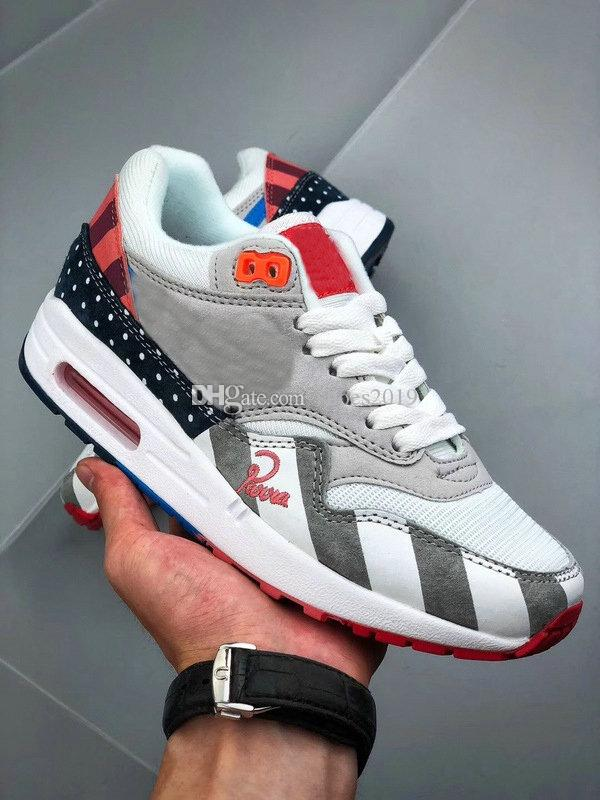 01cca111ece New Piet Parra X Maxes 1 Men Women White Multi Grey Blue Force One Running  Shoes Sports Trainers Designer Athletic Sneakers Size 5 13 East Bay Shoes  Shop ...