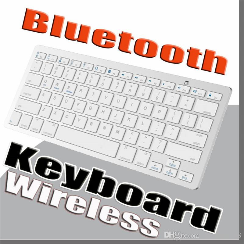 2018 Newest Ultra-slim Wireless Bluetooth 3 0 Keyboard For Android for MAC  iPad IOS Apple Windows for OS System