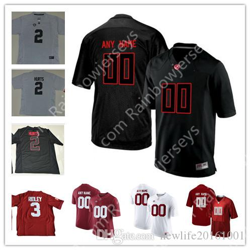 f5b58d533 Custom Alabama Crimson Tide College Football Jerseys Any Name Number ...