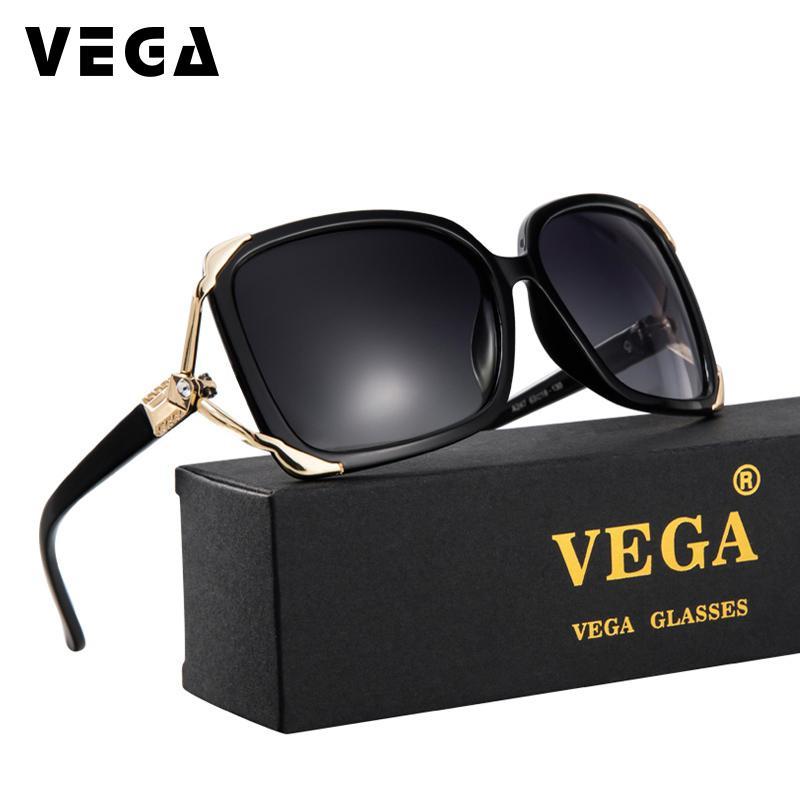 2c06c3c2a3 Compre VEGA Gafas De Sol De Transición Polarizadas Para Damas Últimas Gafas  De Sol De Diamantes De Imitación Con Estilo Salida Púrpura Lente Tintadas  Rojas ...