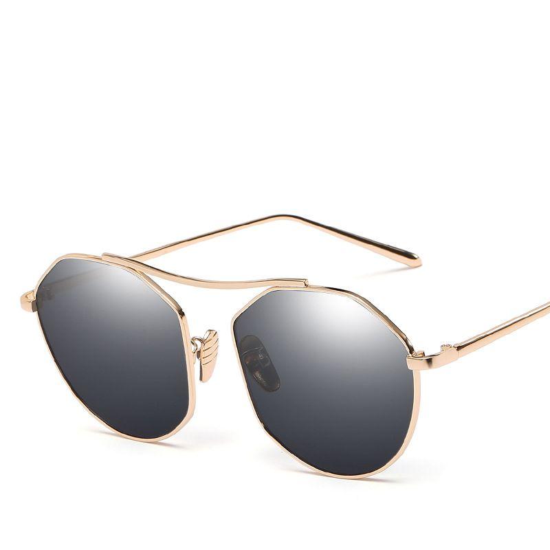 7c83cfdc211 Cat 3 Uv400 Sunglasses Sun Glasses Made In China Hexagon Metal Temple Tip  Muti Optional Colors CE FDA Top Quality Men Women TA50 Police Sunglasses  Serengeti ...