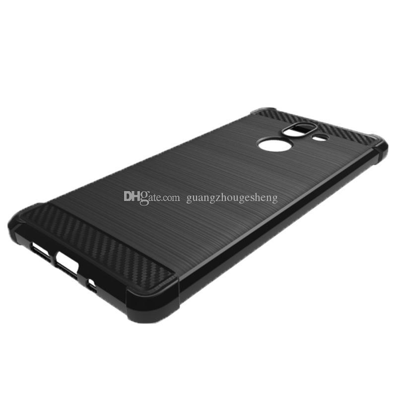 For Nokia 7.1 Plus X7 7 Plus 7Plus 7+ Case Anti-fingerprint Back Cover Shock Edge TPU