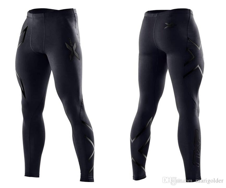 New Brand Apparel Men's Compression Tights Pants Gym Clothing Trousers Mens Joggers  Outdoor Sweatpants In Stock