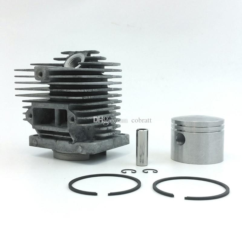 Cylinder kit 46mm for Homelite Super XL XL-AO SXL-AO big red old blue X12  Chainsaw Cylinder piston ring pin clips assembly