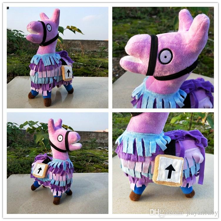 High Quality 25cm Fortnite Troll Stash Llama Figure Soft Stuffed