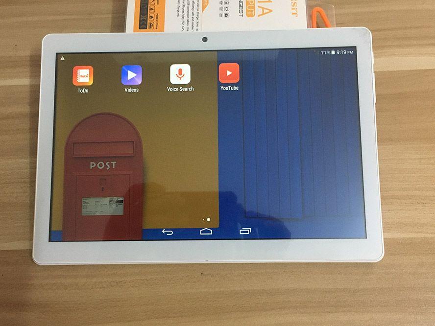 IPS 화면 와이파이 블루투스 DHL 무료 배송 전화 10.1 인치 태블릿 PC MTK6580 쿼드 코어 3 세대 휴대 전화 Android4.4.2 태블릿 1기가바이트 램 16기가바이트 롬