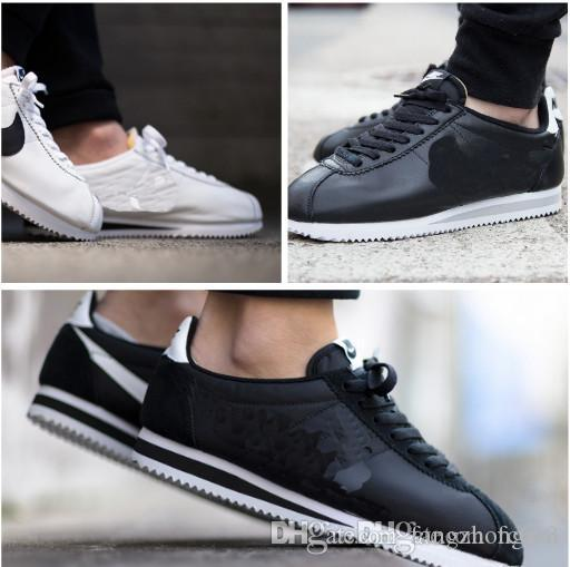 info for 86907 82d04 new Classic Cortez Leather brands Casual Shoes men and women cortez shoes  leisure Shells fashion outdoor Sneakers Waterproof Athletic