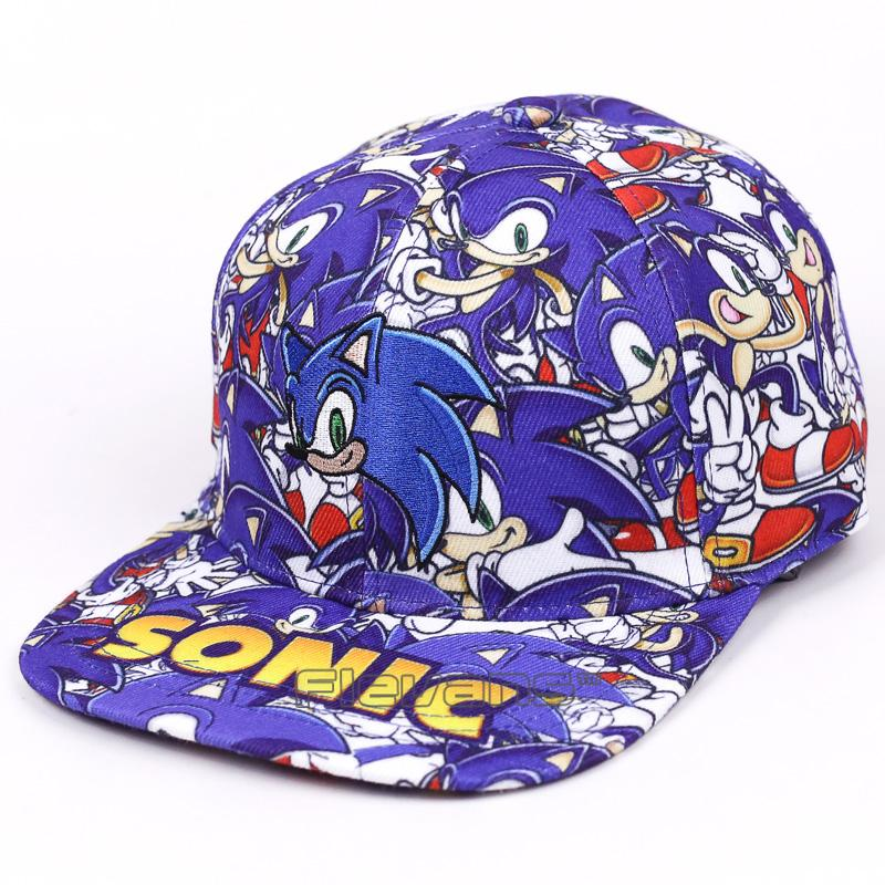 0373fc59cfb Caeroon Fashion Brand Snapback Caps Hat Sonic The Hedgehog Adjustable  Baseball Cap Hip Hop Hats Lids Cap From Saucy