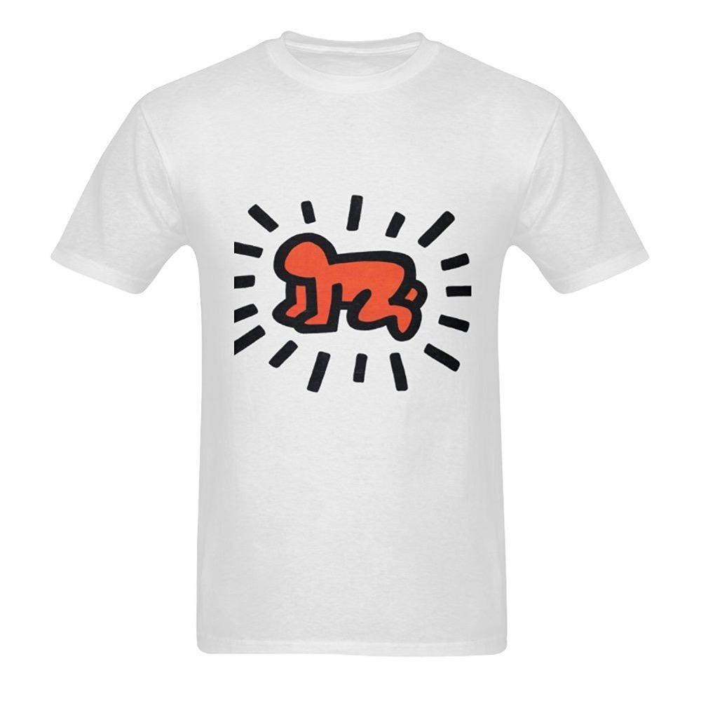2abcbcbdf Hot Sale Discount New Fashion Summer T Shirt Creative Patterned Keith Haring  Short Sleeve Crew Neck T Shirt Novelty Design T Shirt Best Discounted T  Shirts ...