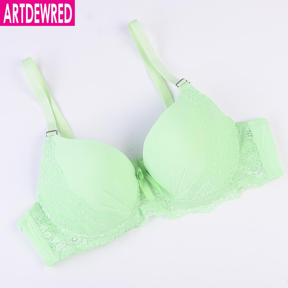 8a80c7cd1 Compre ARTDEWRED Nova Chegada Plus Size Bra 40 48 CD Cup Brassiere Mulheres  Sexy Lace Underwear Bra Grande Bralette De Trousseau