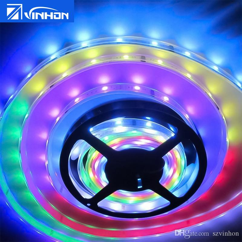 Led strip lights 5050 smd warm white red green blue rgb flexible 5m led strip lights 5050 smd warm white red green blue rgb flexible 5m roll 300 leds ribbon waterproof high power led strip bright led strips from szvinhon aloadofball Image collections