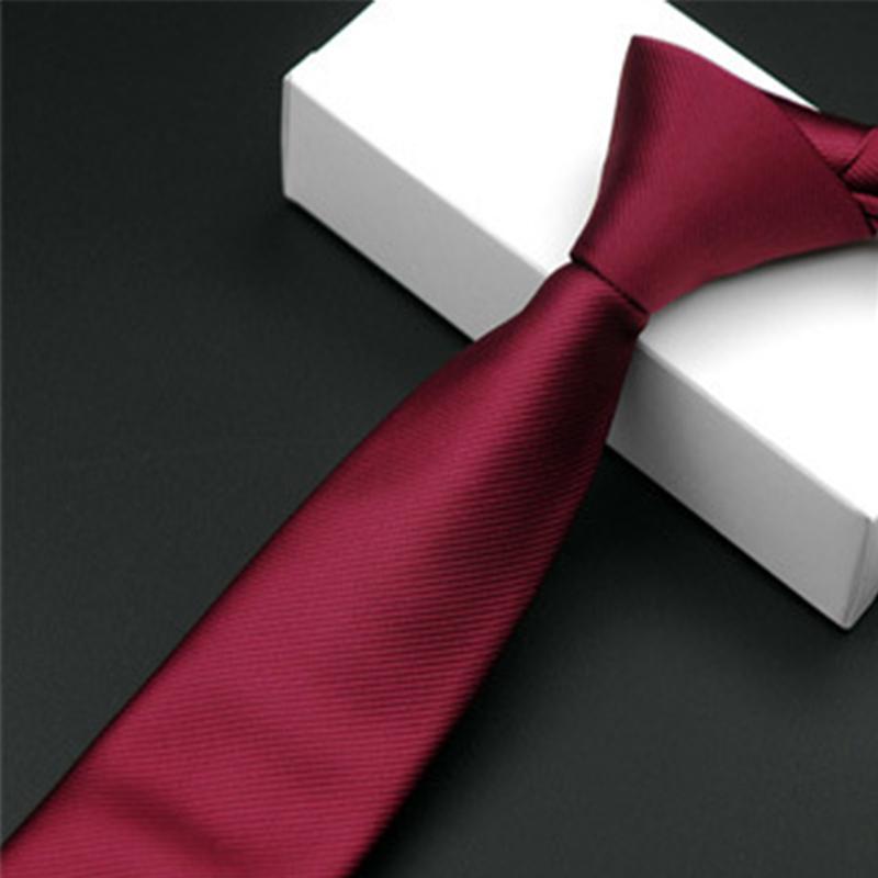 03b82518a27e4 Acheter Mode Homme Accessoires Slim Cravate Noire Étroite Pour Les Hommes  5.5cm Casual Arrow Flare Skinny Red Cravate Simplicity Pour Party Cravates  ...
