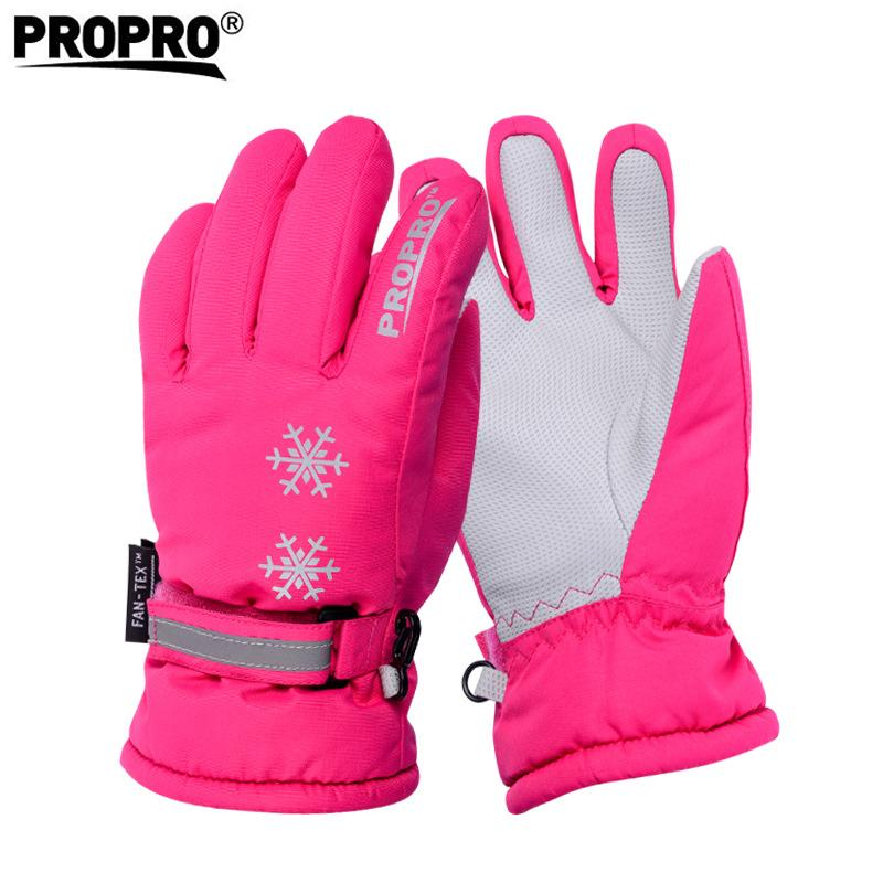 Boys Girls Waterproof Ski Gloves Children Kids Winter Warm Skiing Gloves  Snow Sport Mittens Outdoor Ski Snowboard Cyling UK 2019 From Hongmihoutao f04fbd85ee36