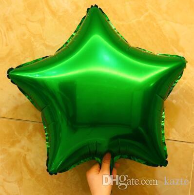 Balões De Casamento romântico Alumínio Revestimento Festival Brithday Festa Fontes de Aniversário Barato Coração E Estrela Decoração Balão