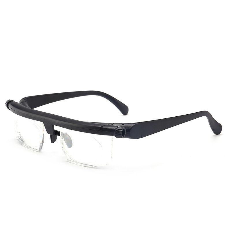 15125dc9802 Vision Focus Adjustable Reading Glasses Myopia Eye Glasses 6D To +3D  Variable Lens Correction Binocular Magnifying Porta Oculos Name Brand  Reading Glasses ...