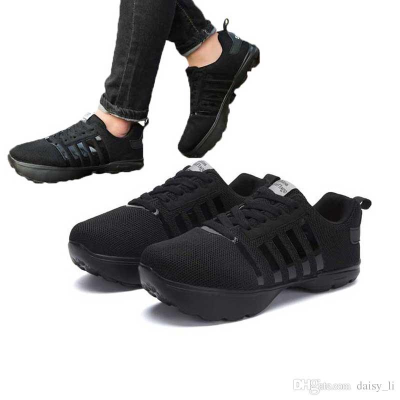 1369891a3b2 Compre Unisex Homens De Cabeça Para Baixo Sapatos Mulheres Malha Listrado K  Calcanhar Negativo Ortopédico Casual Sapato Amantes Moda Sapatilha Calçado  ...