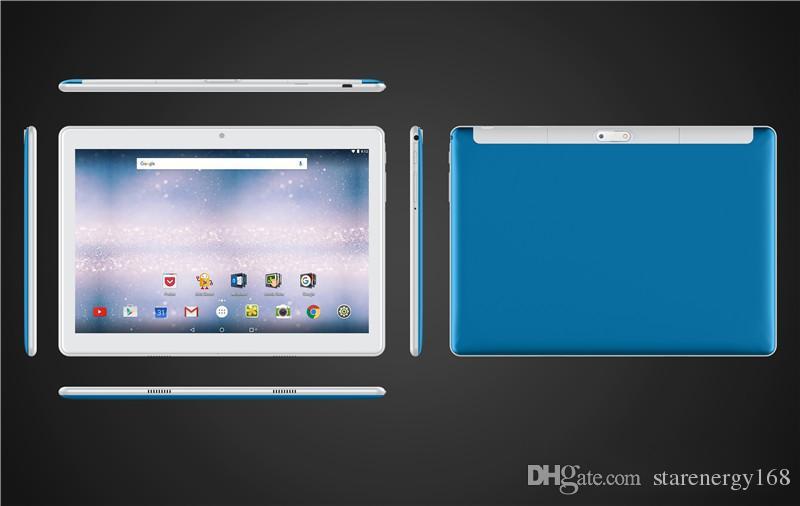 168 고품질 10 인치 MTK6580 2.5D 유리 병 IPS 용량 성 터치 스크린 듀얼 SIM 3G GPS 태블릿 PC 10는