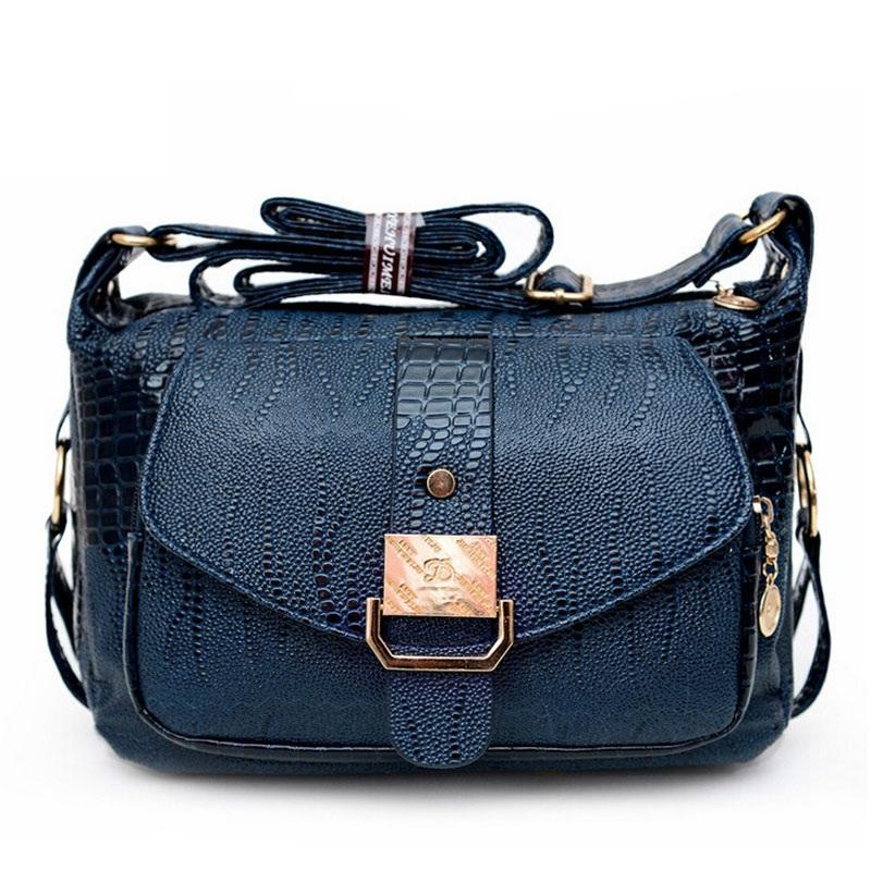 2e25151db69a New Women Messenger Bags Leather Handbag Mid-age Models Shoulder Bag ...