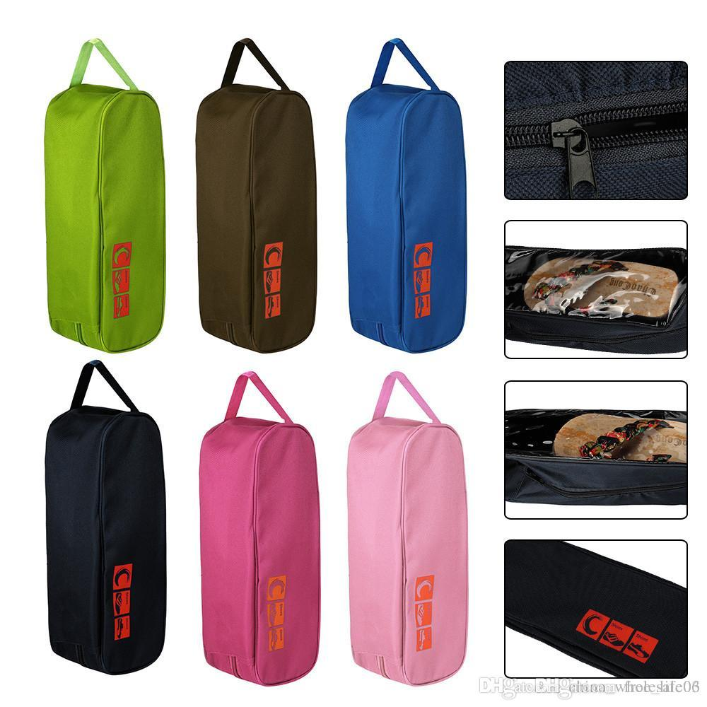 93e07a41aaef 2018 New Portable Waterproof Shoe Bag Multi-purpose Travel Storage Case  Pocket Save Place Storage Bags High Quality Shoes Bag