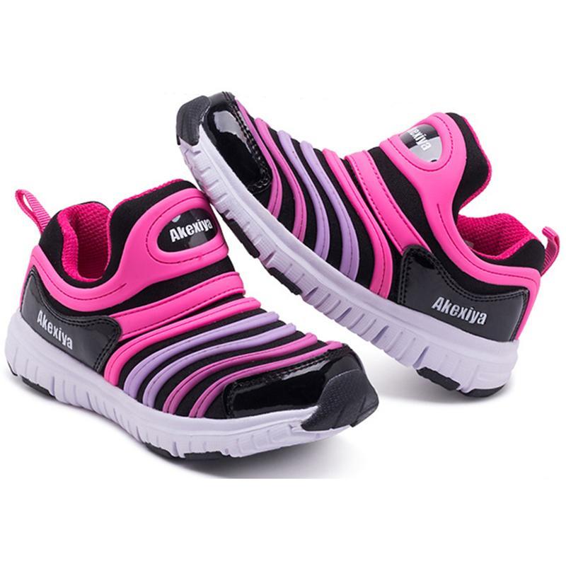 Kinder Sportschuhe Frühling und Sommer Modelle Caterpillar Kinder Schuhe Mode rutschfeste Jungen und Mädchen hohlen Freizeitschuh