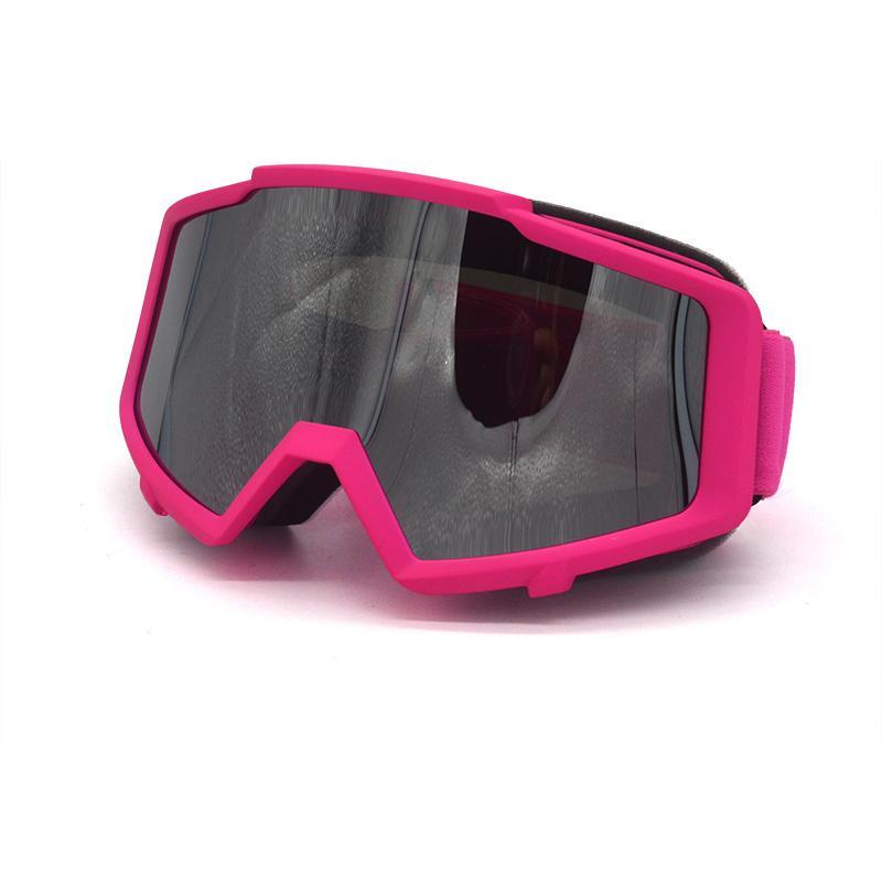 Pink Ski Goggle Snowmobile Bicycle Motorcycle Ski Goggle Eyewear Protective New