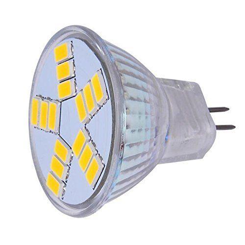 G4 MR11 LED Spotlights 15 SMD 5730 Bulbs Lights AC DC 12V Super Bright Warm/Cold White