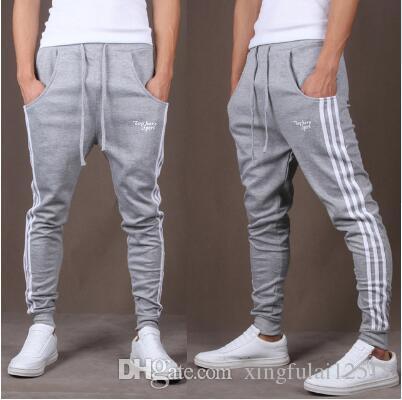 Compre Entrenamiento Pantalones De Jogging Para Hombres Pantalones  Deportivos De Chándal Entrenamiento GIMNASAS Pantalones Para Correr Hombres  Joggers De ... 3905ec2a6d9b