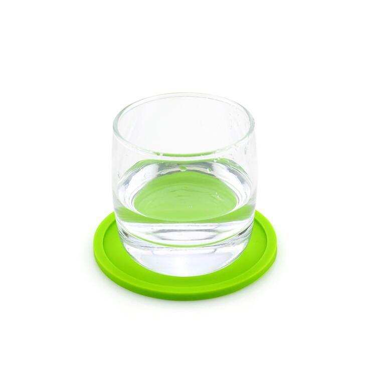 Atacado Silicone Drink Coaster Placemats Para Esteiras De Mesa Para Mesa De Jantar Placemat Silicone Cup Pads Set Cozinha