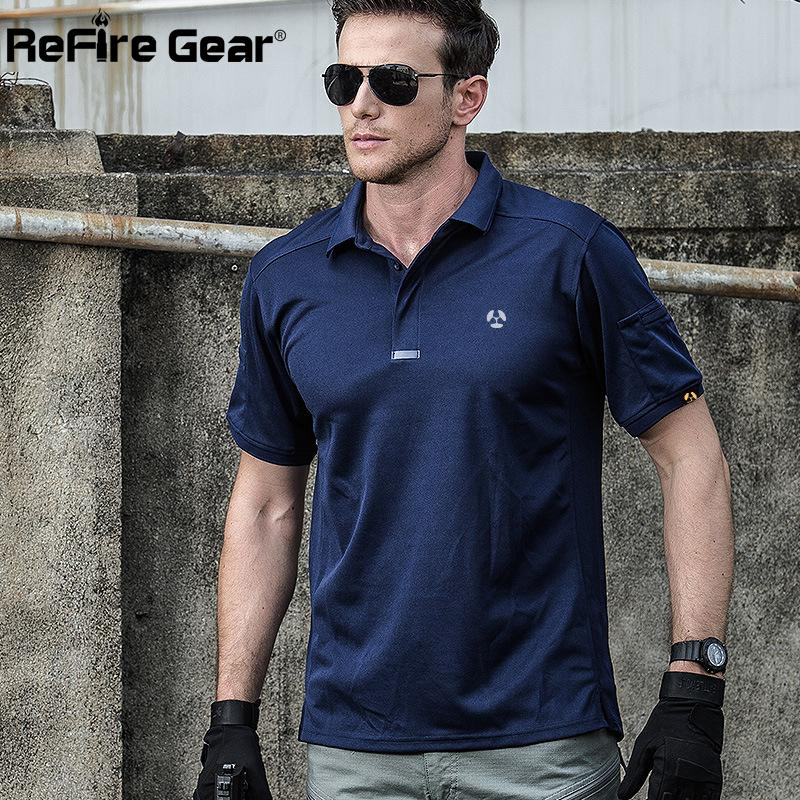 e8d1aad31291 2019 Breathable Urban Tactical Polo Shirt Men Summer Brand Coolmax Quick  Dry Army Polo Man Military Shirt Short Casual Polo Shirts From Netecool
