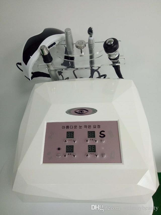 Çok fonksiyonlu iki kutuplu rf cilt sıkılaştırma göz yüz germe rf makinesi