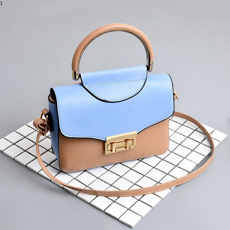 Women Fashion Totes Leather Simple Solid Color Handbag Luxury Designer Small  Shoulder Bags Crossbody Bags For Girls Messenger Bags Satchel Bags Crossbody  ... 9cbc478397cae