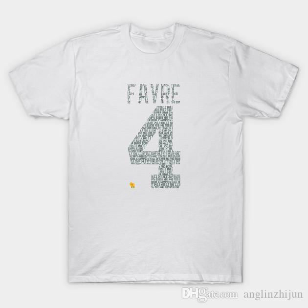 cheap for discount caf8f c68eb Brett Favre Packers Numbers T-Shirt