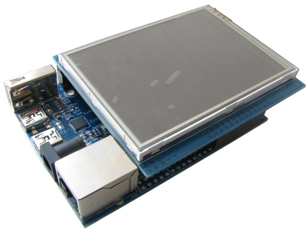 CortexM4 STM32F407 development kit with network USB Host touch screen 130W  camera GPS