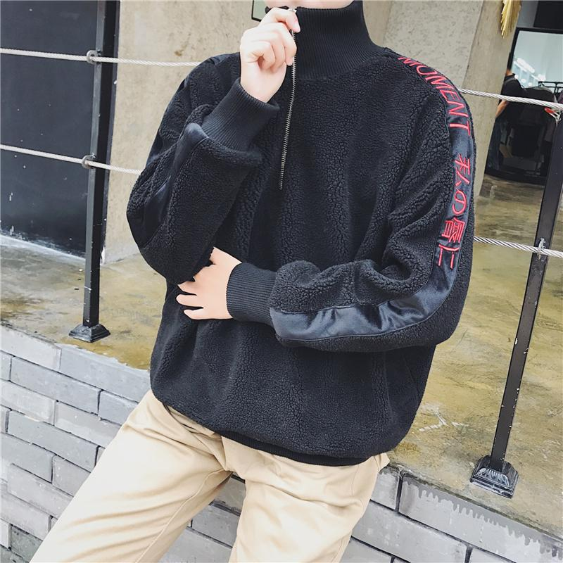 2019 2018 Winter New Japanese Youth Fashion Trend Hip Hop Literary