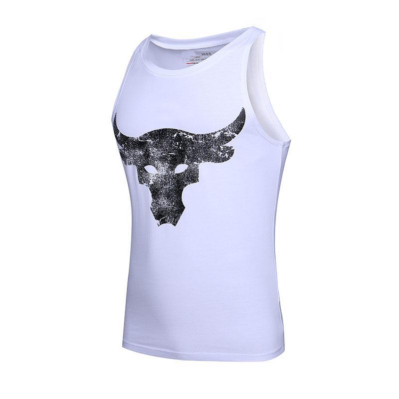 1cff72e043f6 Brand Design Mens T Shirt Summer High Street Fashion Breathable Sleeveless  Shirts Men High Quality Cotton Blend Tshirt Casual Top Tees Funny T Shirts  For ...