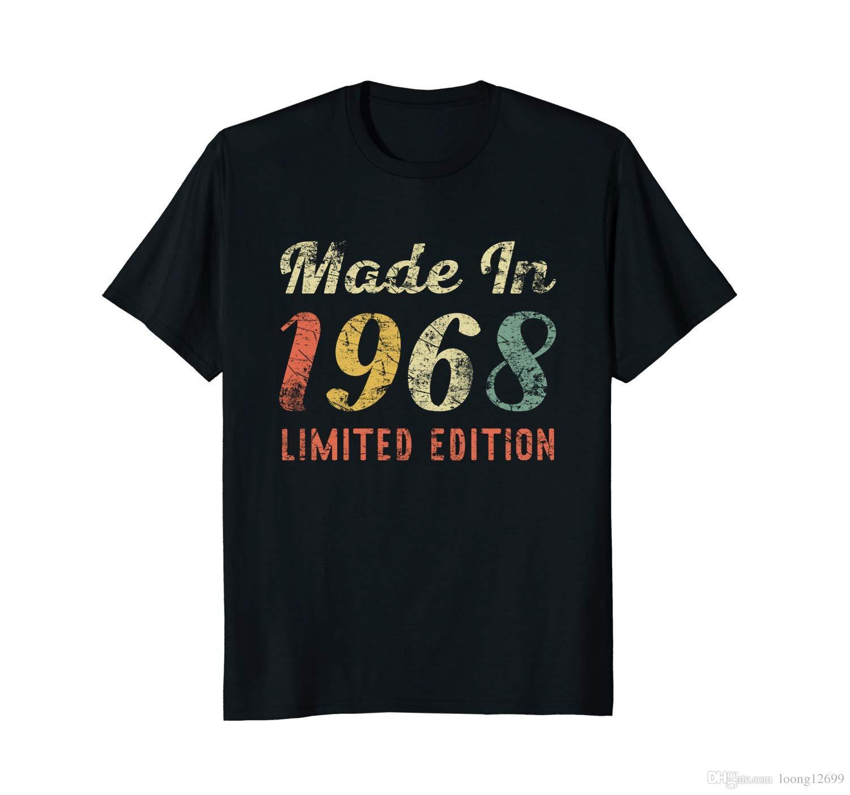 Grosshandel Geboren 1968 50 Geburtstag Geschenk Shirt Fur Manner