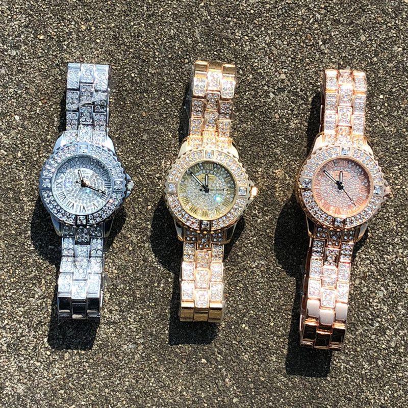 2130e6753c8 Style  Fashion Elegant Quartz Watch Factory wholesale new top ladies  Stylish elegant quartz watch watch diamond luxury high-end diamond table  free shipping