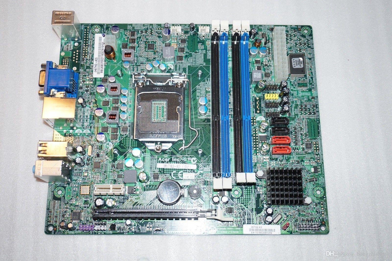 حرية الملاحة تشانجيسو للنظام الأصلي اللوحة H67 H67H2-AD D2 اللوحة ، H67 LAG1155 العمل تماما